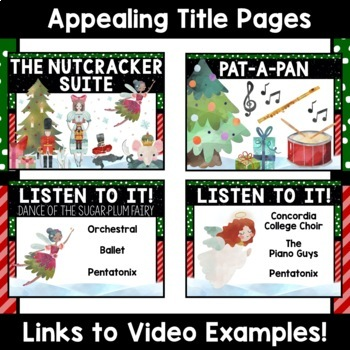 Christmas Music- 25 Days of December Songs- 87 Video Links