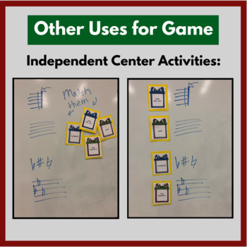"""Christmas Music Games & Activities- Music Symbols """"Who Am I"""" Guessing Game"""