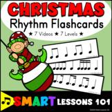 Christmas Music Activity: Rhythm Flashcard Activities for