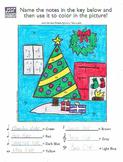 Christmas Music Activity Sheet