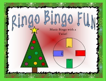 Christmas Music Bingo: Christmas Ringo Bingo