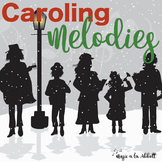 Christmas Music: Caroling Melodies {A Bundled Set of Games}