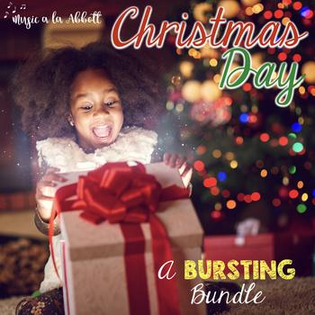 Christmas Music: Christmas Day BURSTING Bundle of Musical Games {2017 edition}