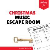 Christmas Music Escape Room