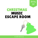 Christmas Music Escape Room
