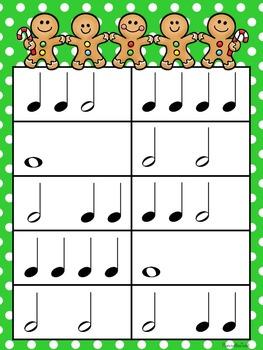 Christmas Music Game Bundle Level 1: four games, zero prep!