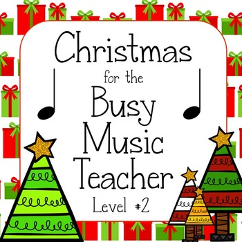 Christmas Music Game Bundle Level  2: four games, zero prep!