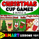 Christmas Music Games: Christmas Cup Game Rhythm Activity