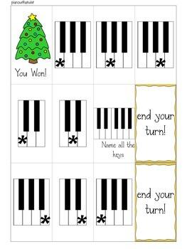 Christmas Music Game: Christmas Dash- a music vocabulary game