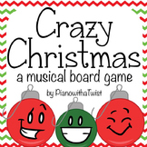 Christmas Music Game: Crazy Christmas- Grand Staff and Piano Keys