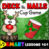 Christmas Music Game: Deck the Halls Cup Game Rhythm Activ