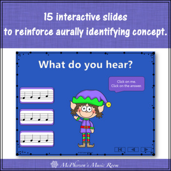 Christmas Music Game: Do Re Mi Interactive Melody Game {Dancing Elf}