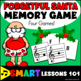 Christmas Music Game: Forgetful Santa Note Reading Game Tr