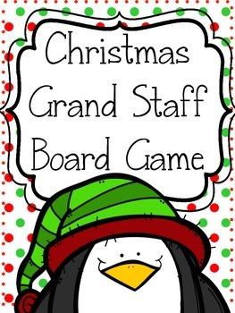 Christmas Music Game: Grand Staff Fun!