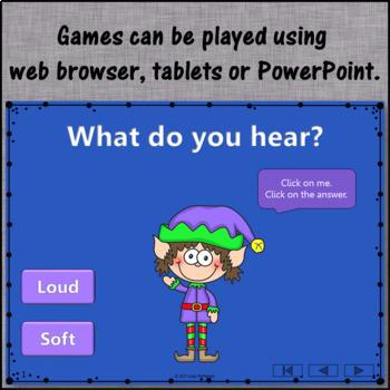 Winter Music Games: Loud Soft  Interactive Dynamics Games {Bundle}