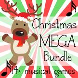 Christmas Music Game Mega Bundle- 14+ Games and Activities!