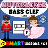 Christmas Music Game: Nutcracker Bass Clef Note Reading Ga