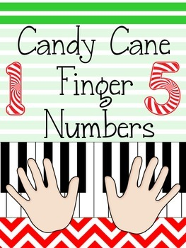 Christmas Music Game: Piano Finger Numbers