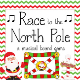 Christmas Music Game: Race to the North Pole
