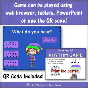 Christmas Music Game: Syncopa Syncopation Interactive Rhythm Game {Dancing Elf}