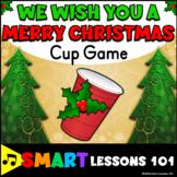 Christmas Music Game: We Wish You a Merry Christmas Cup Ga