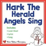 Christmas Music: Hark the Herald Angels Sing with Song, Sheet Music & Lyrics