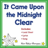 Christmas Music: It Came Upon a Midnight Clear Song, Lyrics & Sheet Music