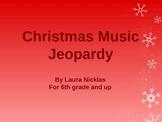 Christmas Music Jeopardy