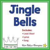 Christmas Music: Jingle Bells with Song, Sheet Music & Lyrics