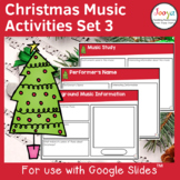 Christmas Music Listening Activities- Set 3