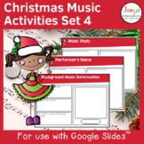Christmas Music Listening Activities- Set 4