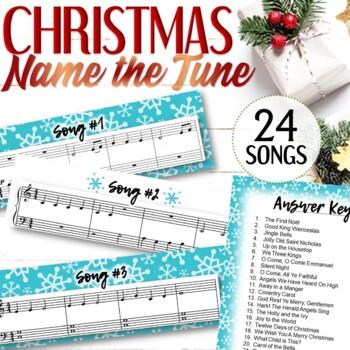 "Christmas Music ""Name That Tune"""