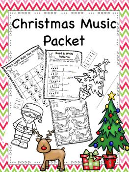 Christmas Music Packet
