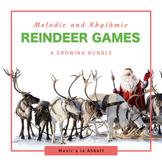 Christmas Music: Reindeer Games {A Growing Bundle of Games }