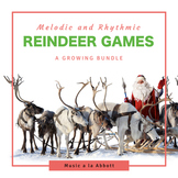 Christmas Music: Reindeer Games {A Growing Bundle of Games }