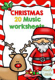 Christmas Music Worksheets