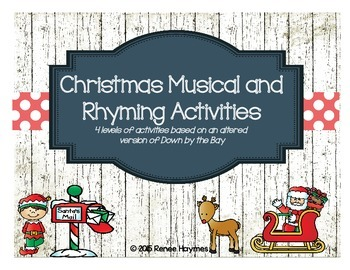 Christmas: Musical and Rhyming Activities