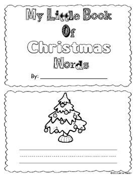 Christmas- My Little Book of Words