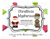 Christmas Mysteries for Inferencing, Drawing Conclusions,
