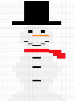 Christmas Mystery Excel/Sheets Picture