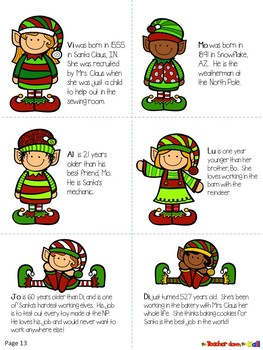 Christmas Mystery Game - ELAR, Math, Science, and Geography Activities!