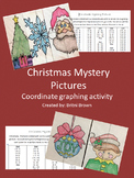 Coordinate graphing- Christmas Mystery Pictures