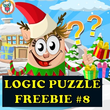 Christmas Mystery Logic Puzzle Freebie #8