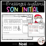 French Christmas Mystery Messages/ Messages mystères de Noël - Son initial