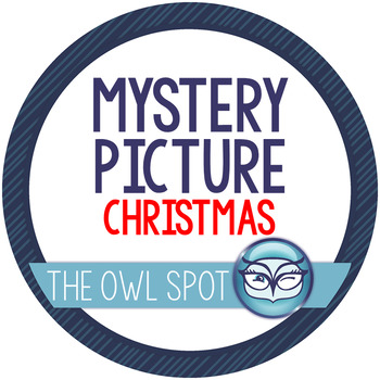Christmas Mystery Picture FREEBIE