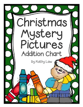 Christmas Mystery Pictures -- Addition Chart