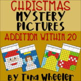 Christmas Mystery Pictures Addition Within 20 ~ Fact Fluency