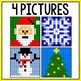 Mystery Pictures Christmas - Addition and Subtraction Facts