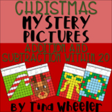 Christmas Mystery Pictures Addition and Subtraction Within 20 ~ Fact Fluency