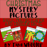 Christmas Mystery Pictures Basic Multiplication and Division Facts